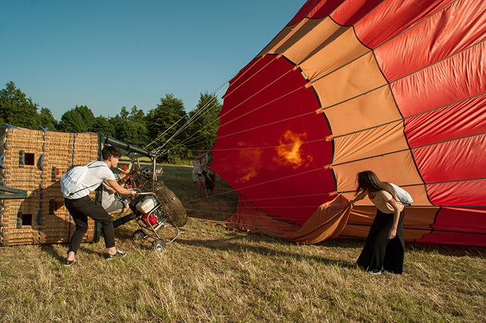 heißluftballon_anheizen