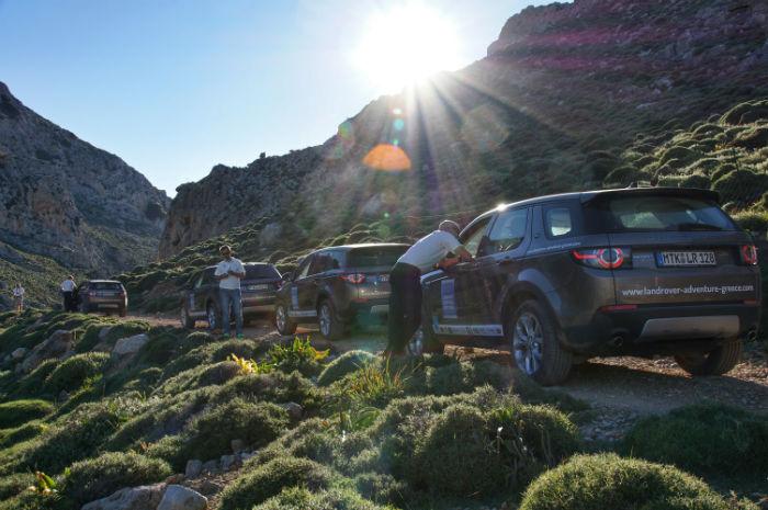 Roadtrip-auf-Kreta-Land Rover Adventure Greece_Pause