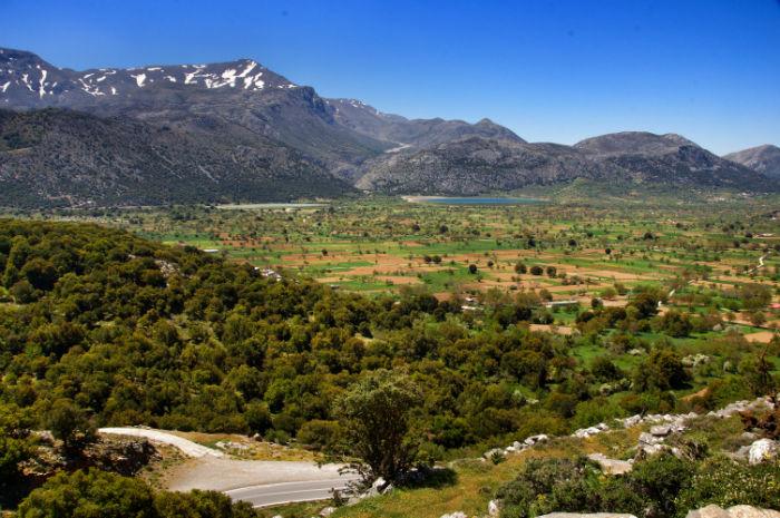 Roadtrip-auf-Kreta-Land Rover Adventure Greece_Plateau