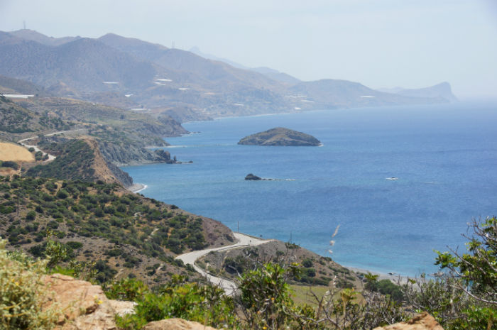 Roadtrip-auf-Kreta-Land Rover Adventure Greece_Tag5_Meerblick