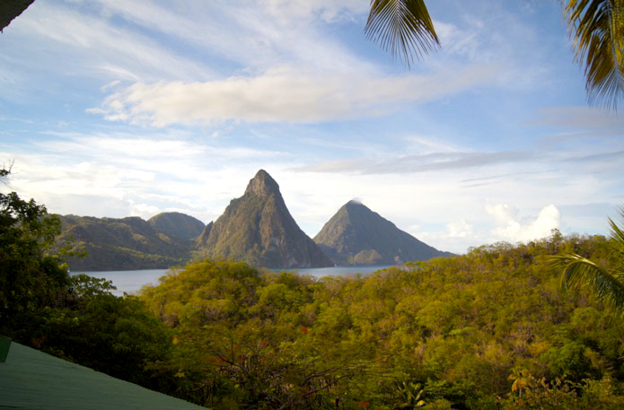 Pitons-Hotel