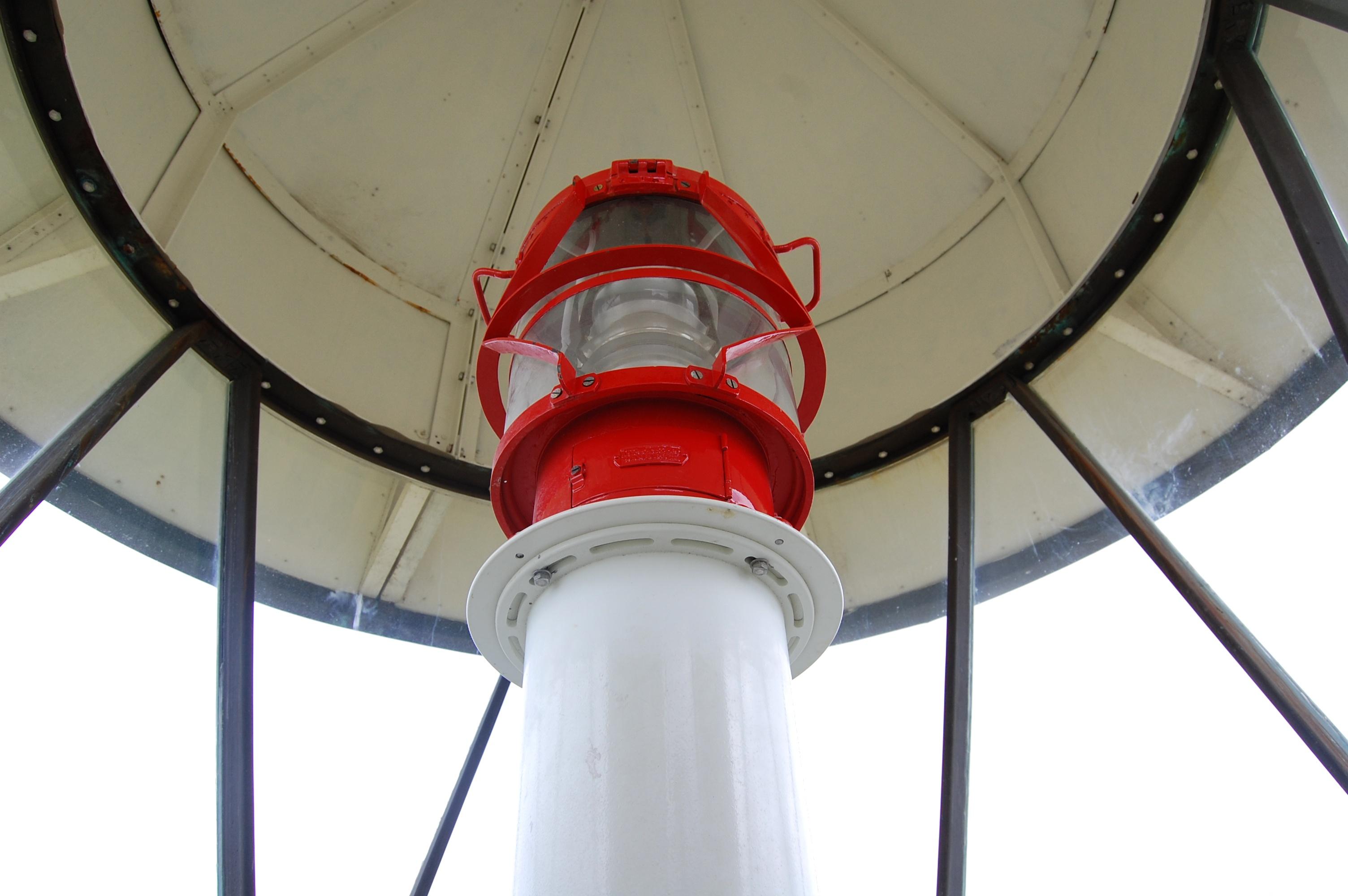 Die Lampe des Leuchtturms