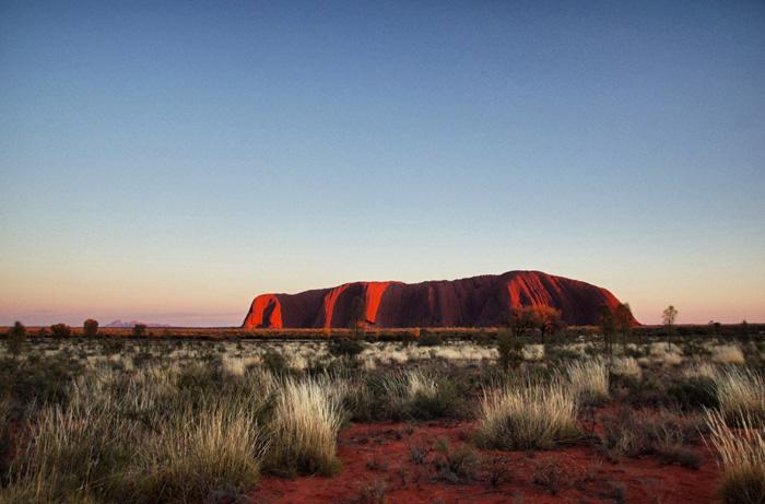 Ayers-Rock-Sonnenaufgang