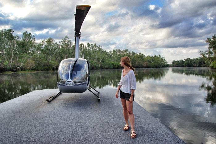 Christine-Neder-Helikopter