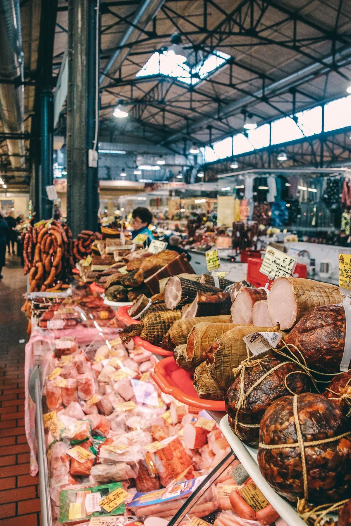 fleisch markthalle vilnius