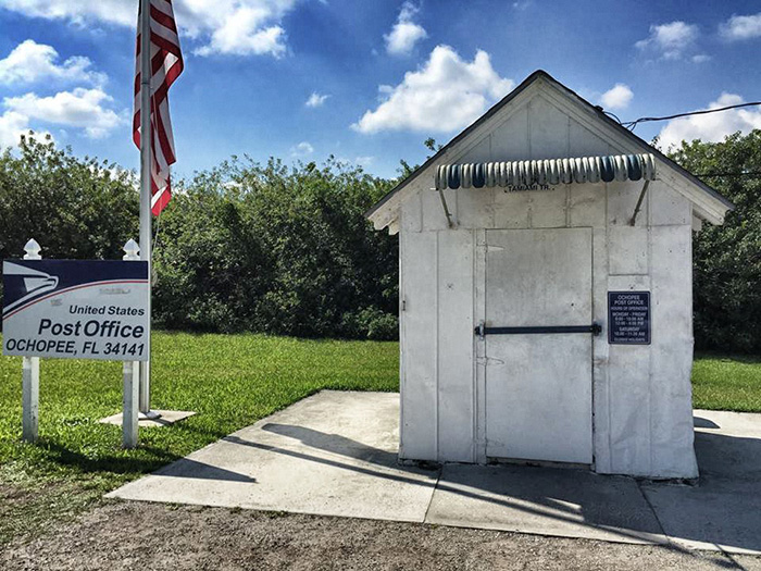 everglades_kleinstes-Post-office-der-USA