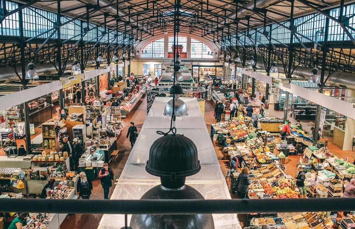 Markthalle in vilnius