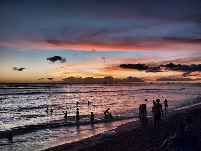 Oahu_Sonnenuntergang-2-Waikiki