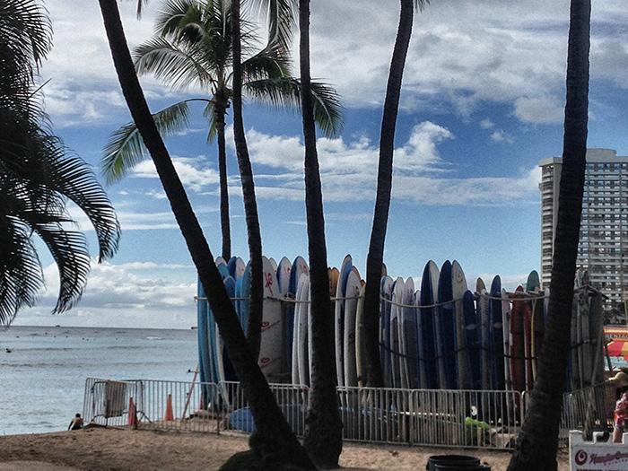 Oahu_Surfbretter