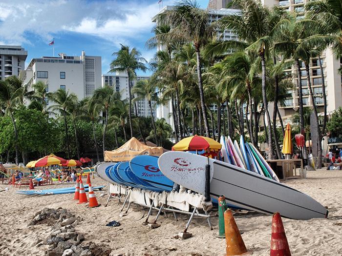 Oahu_Surfbretter2