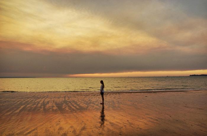 Sonnenuntergang-Dawin