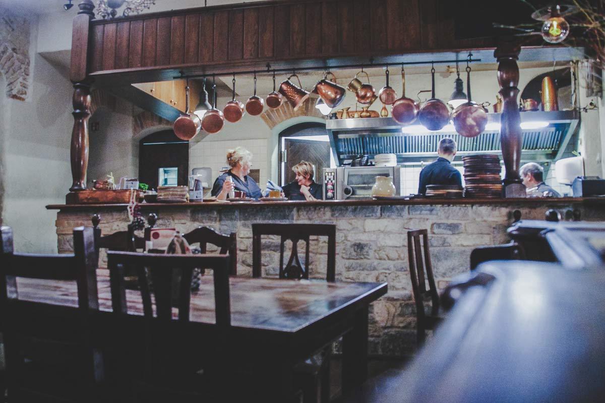 traditionelles restaurant vilnius