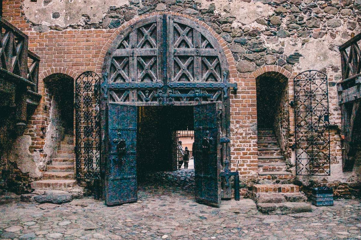 trakai mittelalterliche ruine