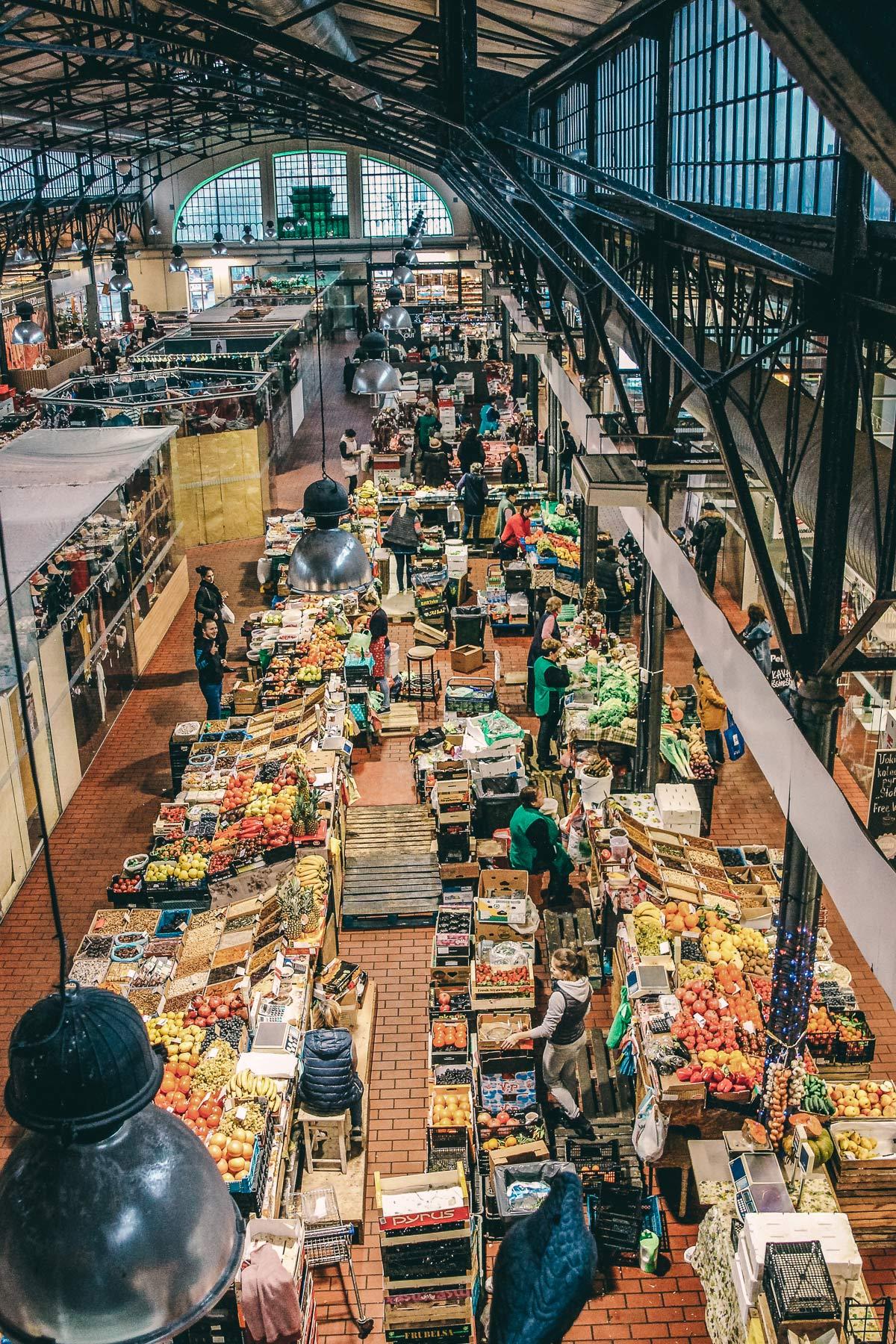 vilnius markthalle