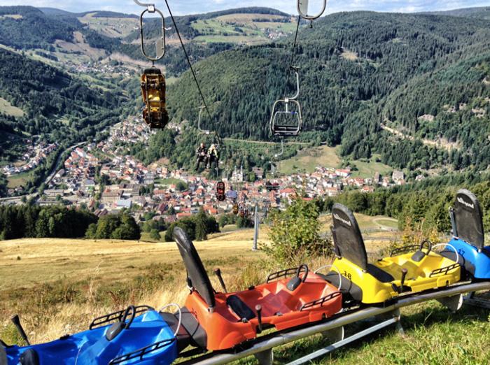 Coaster-Schwarzwald