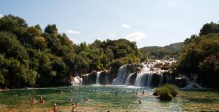 Krka_Wasserfälle