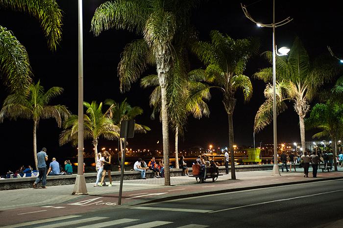 Lanzarote_Arrecife_bei_Nacht