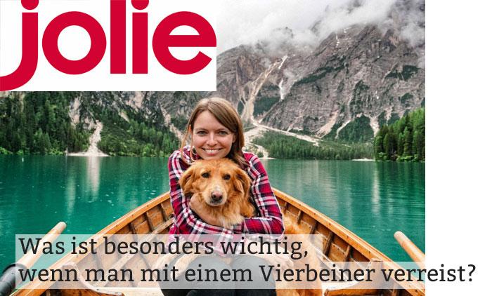 Jolie-Presseseite