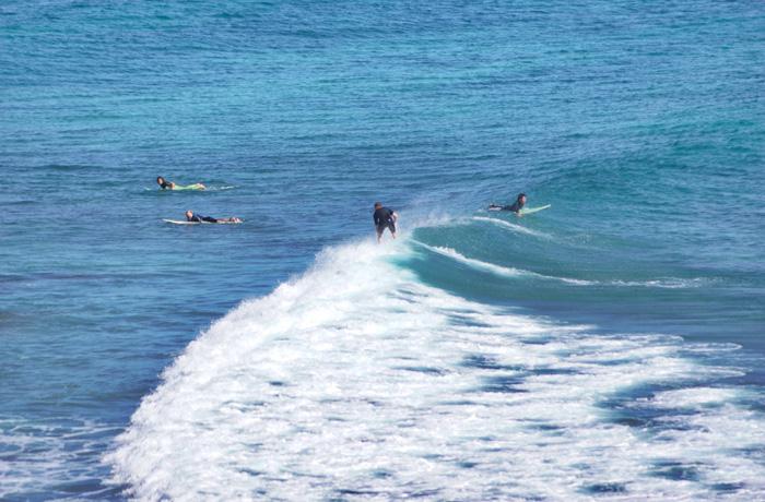 Surfen-Noosa