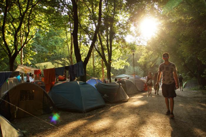 Sziget_Festival_Zeltplatz