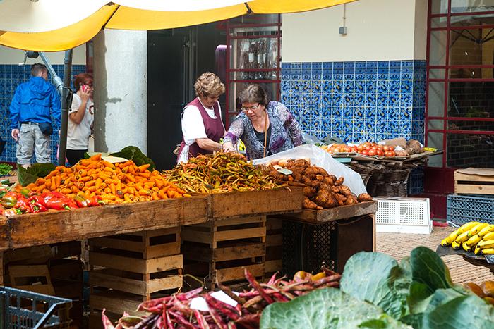 Madeira_Bauernmarkt