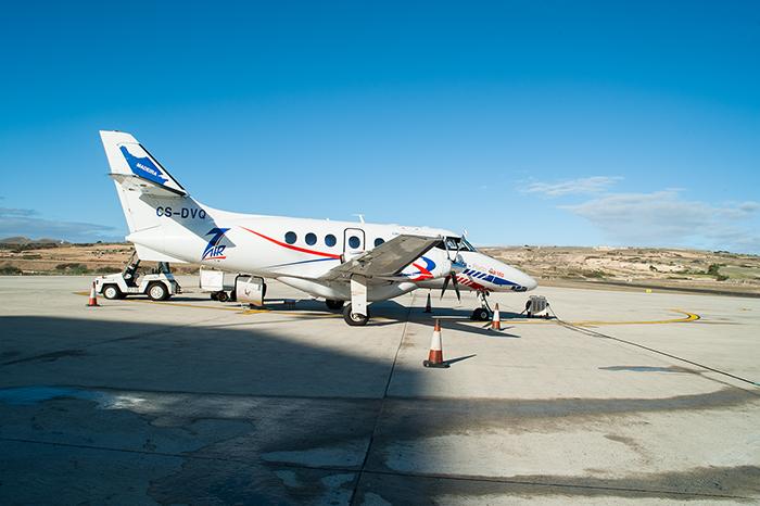 Porto_Santo_Propeller_Flugzeug