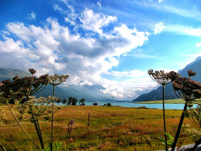 Engadin-Landschaft