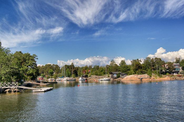 Insel-Wasser-Helsinki