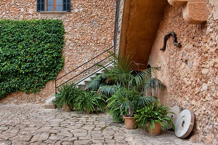 Mallorca_Geheimtipps_orange-Wand-mit-Pflanzen