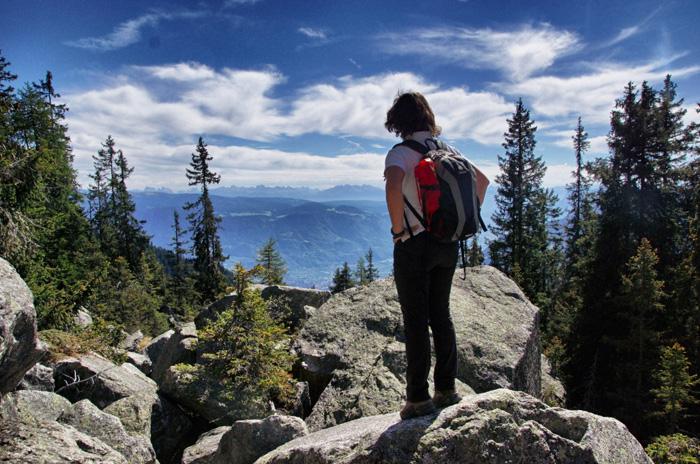 Meraner-Höhenweg-Aussicht-Dolomiten