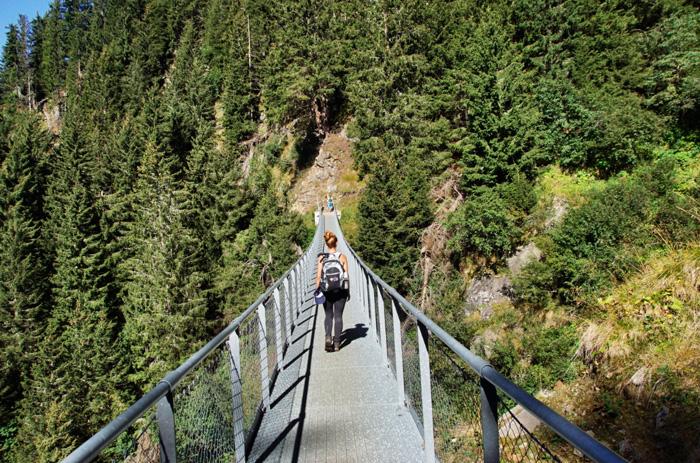 Meraner-Höhenweg-Hängebrücke