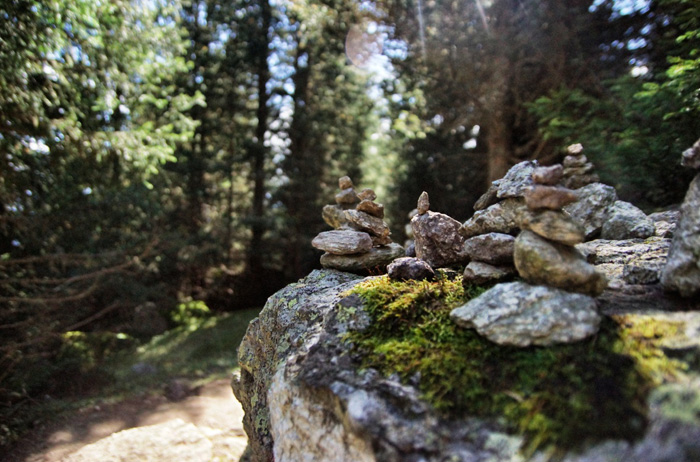 Meraner-Höhenweg-Steinhaufen