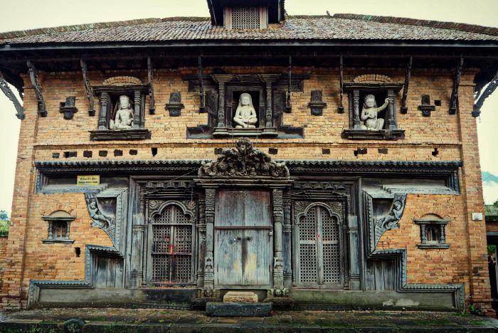 Urlaub in Nepal Haus