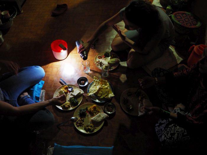 Urlaub in Nepal Nepalesisches Essen