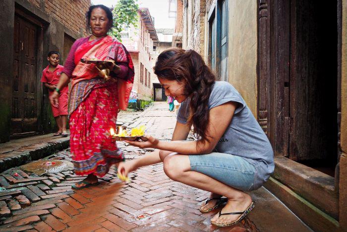 Urlaub in Nepal Tradition