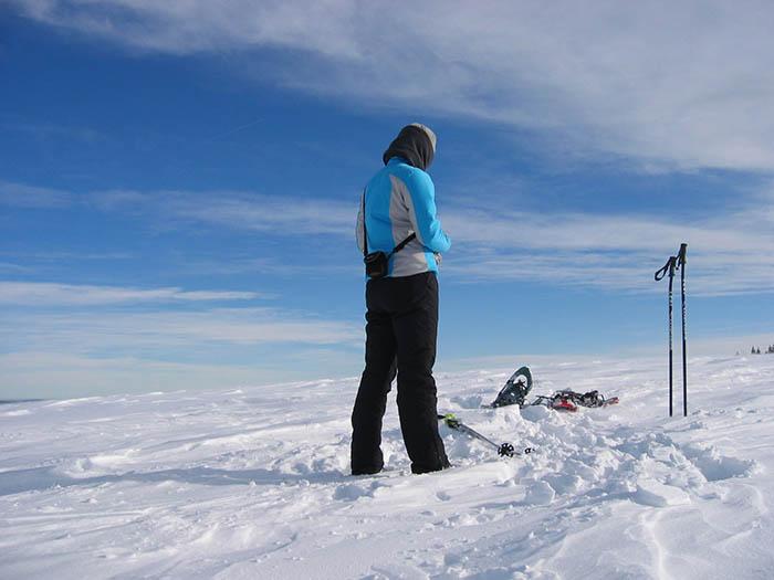 Schneeschuhtour_Pause