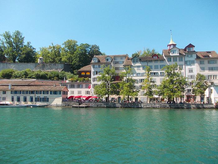 Schweiz-Zürich-Limmat