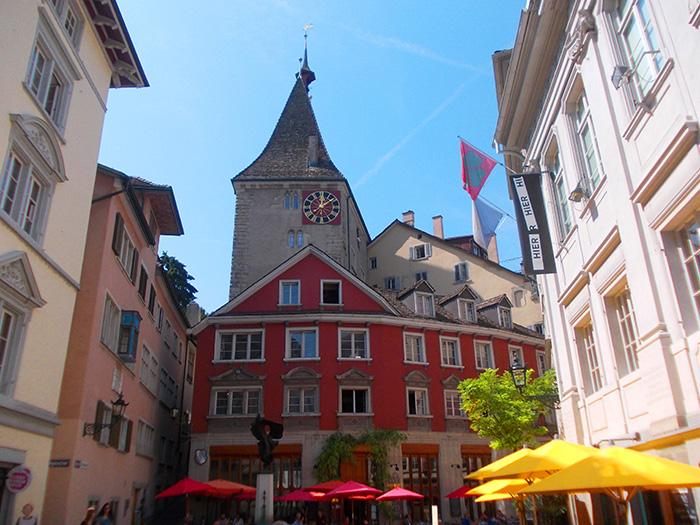 Schweiz-Zürich-Platz