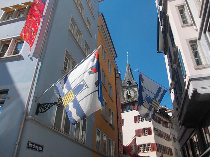 Schweiz-Zürich-Storchengasse