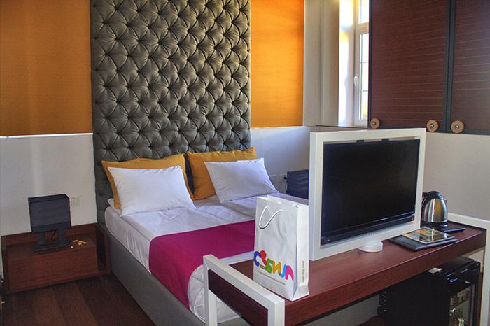 Serbien-Belgrad-Hotelzimmer
