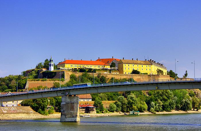 Serbien-Novi-Sad-Burg