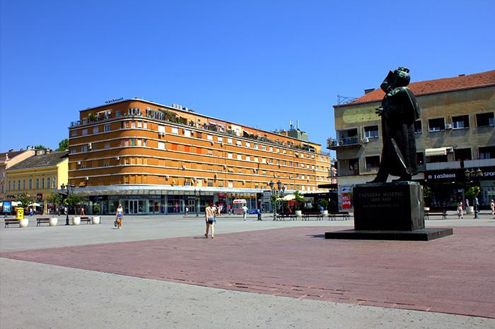 Serbien-Novi-sad-Platz