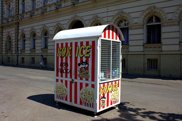 Serbien-Popcorn