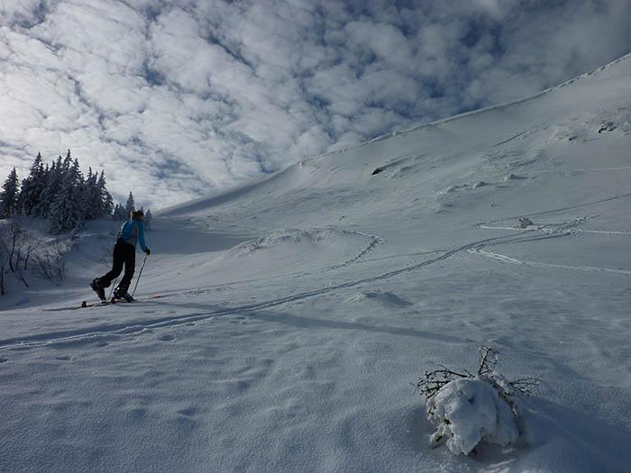 Skitour_Anstieg