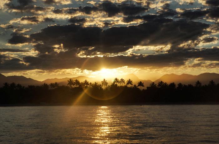 Sonnenuntergang-Australien-Port-Douglas