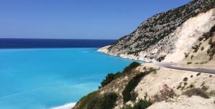 Anfahrt Myrtos Beach
