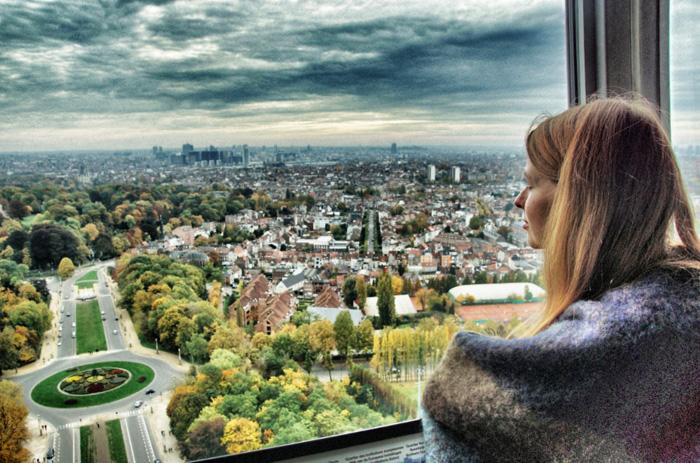 Aussicht-Brüssel