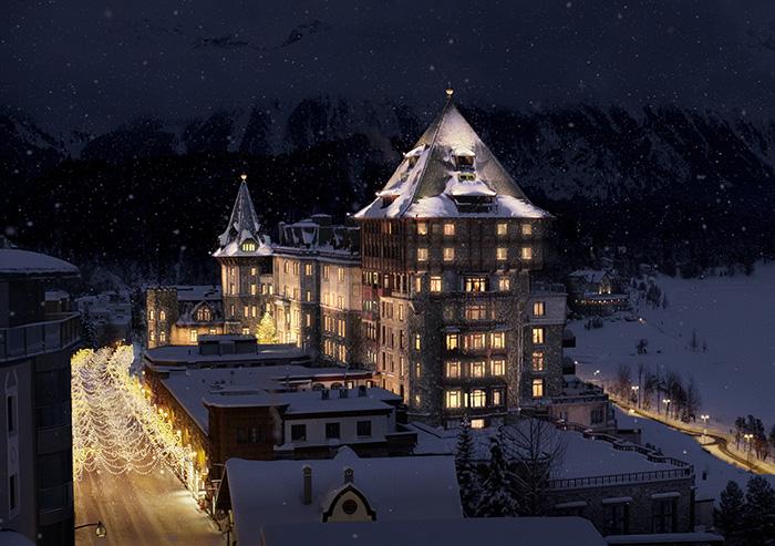 Badrutt's Palace-im-Schnee