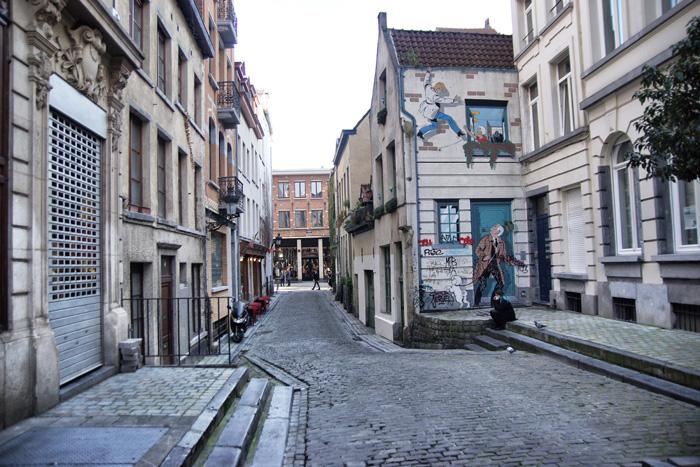Comic-Brüssel