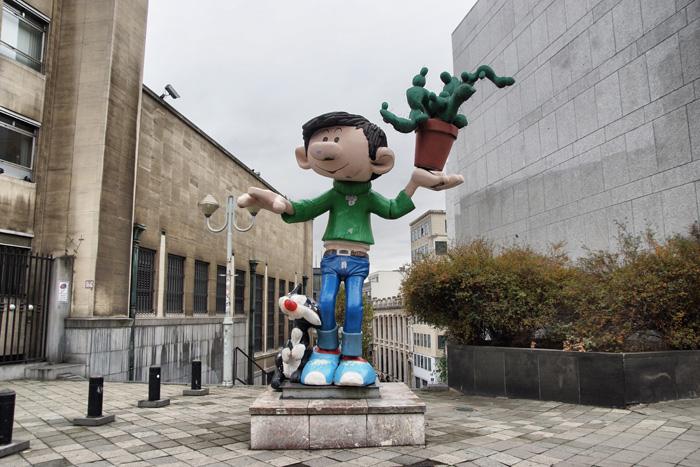 Comicfiguren-Brüssel